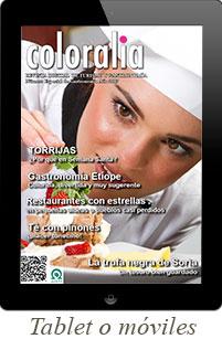 Revista especial Gourmet 2017 para tablets