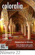 portada revista coloralia numero 22