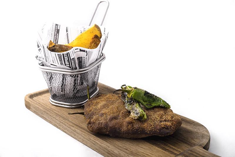 Cachopito de ibérico Restaurante Cayetana