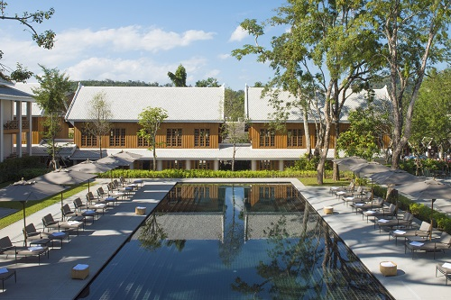 Swimming Pool Hotel Azerai; Luang Prabang; Laos. Avani Hotels