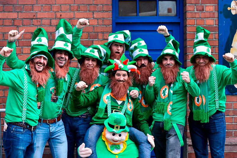 Dia de San Patricio en Dublín